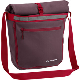 VAUDE ShopAir Back Cykeltaske, raisin